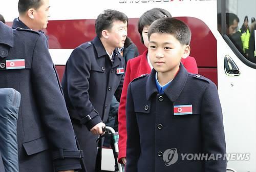평창 동계패럴림픽에 북한의 참관인 선수로 방남한 김동영. 7일 방남 당시 장면.