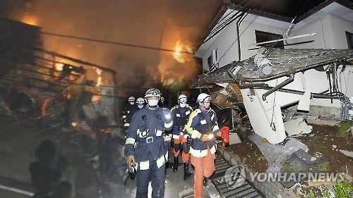 재난현장[연합뉴스TV 제공]