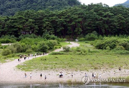 남한강 상류 청령포[연합뉴스 자료사진]
