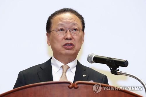 최흥식 금융감독원장 [연합뉴스 자료 사진]