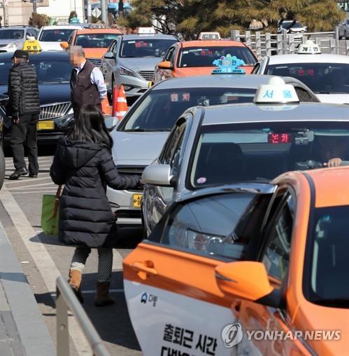 서울 택시 [연합뉴스 자료 사진]