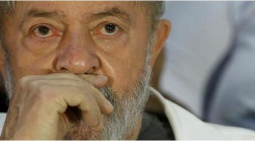 브라질 좌파 노동자당 대선주자인 룰라 전 대통령 [브라질 뉴스포털 UOL]