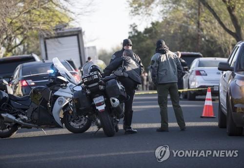 미국 텍사스 주 오스틴 소포 폭탄 폭발사고 현장
