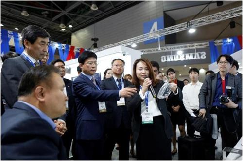에스원, 세계보안엑스포 참가[에스원 제공=연합뉴스]