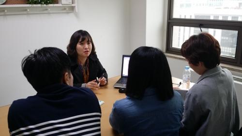 대전 진로진학지원센터 상담 모습