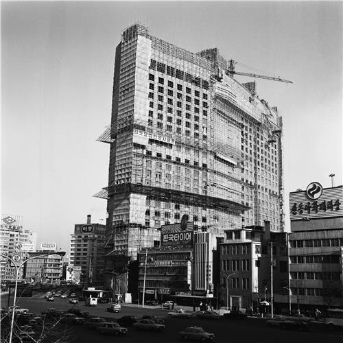 플라자 호텔 건축공사
