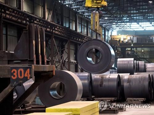 캐나다의 철강제품 생산공장 [AP=연합뉴스]