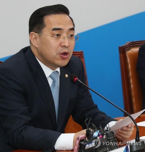 박홍근 원내수석부대표 [연합 자료사진]