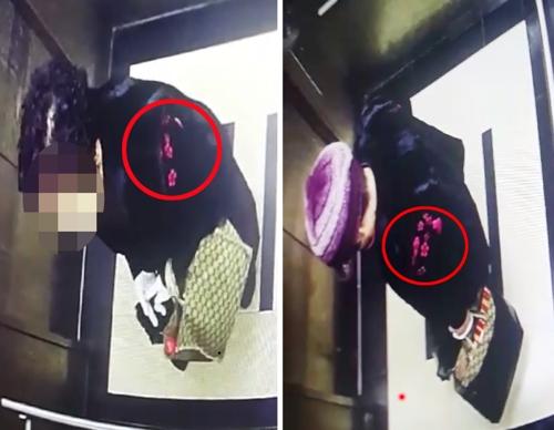 할머니 살해후 은폐한 여성 '꽃무늬 옷'에 덜미