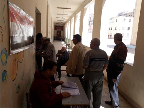[르포] 이집트 대선 투표 첫날…거침없이