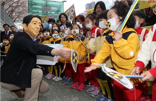 후쿠시마산 수산물 반입 안돼