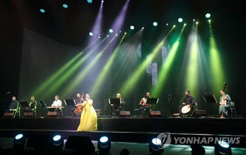 지난해 전주세계소리축제 개막식 [연합뉴스 자료사진]