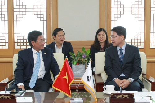 베트남 빈증성 대표단 대전시 방문