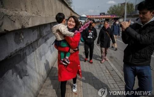 중국 인권운동가 왕취안장의 아내 리원주