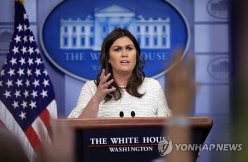 세라 샌더스 백악관 대변인