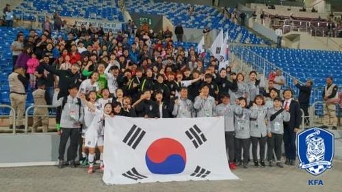 윤덕여호 여자월드컵 진출…나머지 대륙은 '티켓 전쟁' 중