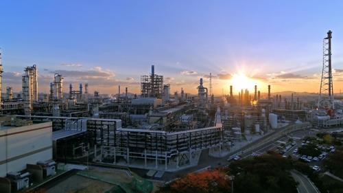SK인천석유화학의 전경