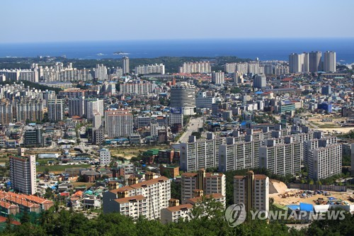 속초시 전경 [연합뉴스 자료사진]