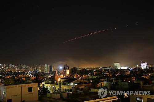 시리아 공습 [AP=연합뉴스 자료사진]