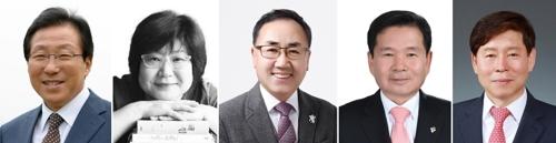 6·13 지방선거 강원 교육감 후보자들.