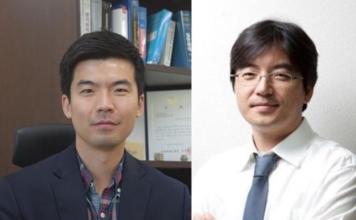 경북대 최상일(왼쪽) 교수와 고려대 이광렬 교수