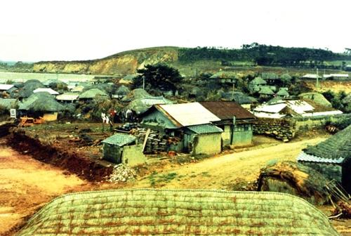 1960년대 녹수마을 모습