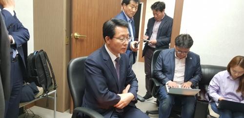 브리핑하는 김상훈 한국당 대구공천관리위원장