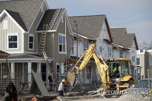 미국의 주택건설 현장