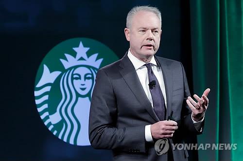 케빈 존슨 스타벅스 CEO