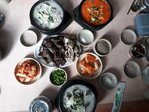 국밥과 순대