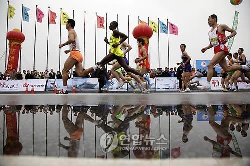 단둥 마라톤대회 2년 연속 취소