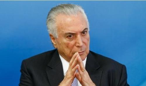 미셰우 테메르 브라질 대통령 [브라질 뉴스포털 UOL]