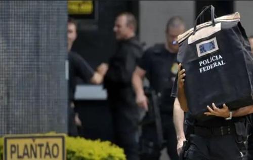 부패수사에 동원된 브라질 연방경찰 [국영 뉴스통신 아젠시아 브라질]