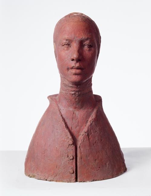 권진규, 지원의 얼굴, 테라코타, 32×23×50cm, 1967