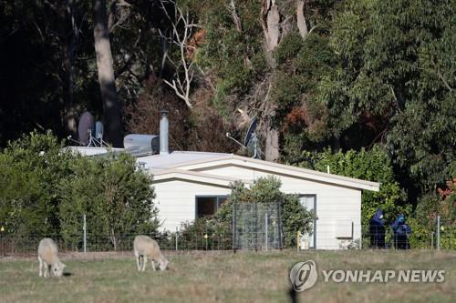 7명이 숨지는 총기사건이 발생한 호주 오스밍턴의 가옥