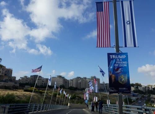 [르포] 미국대사관 맞이하는 예루살렘…'기쁨반 긴장반'(종합)