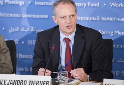IMF의 알레한드로 베르네르 중남미 국장 [IMF 웹사이트]