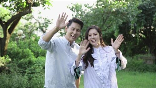 추자현(오른쪽)-위샤오광 부부