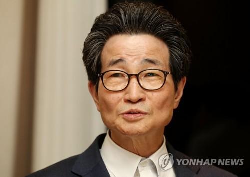 지난달 기자간담회 하는 이목희 일자리위원회 부위원장