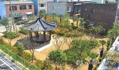 도심 속 쌈지숲 [연합뉴스 자료사진]