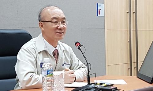 기자간담회 하는 김조원 KAI사장
