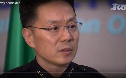 앤디 황 미 워싱턴주 페더럴웨이시 경찰국장