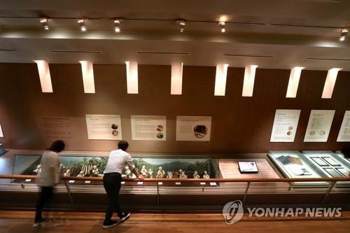 전주한지박물관 내부 모습