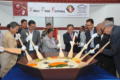 지난해 열린 네팔 한국문화 주간 행사 장면.[주네팔한국대사관 제공]