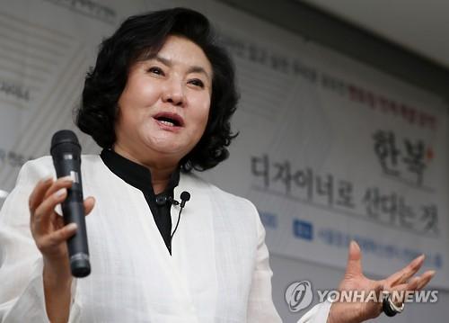 세계 무대 향한 40여년 여정 마친 '한복쟁이' 이영희