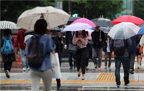 출근길 우산은 필수품입니다     /김인철