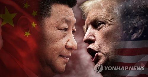 시진핑 중국 국가주석과 도널드 트럼프 미국 대통령(PG)