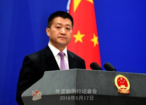 루캉 중국 외교부 대변인