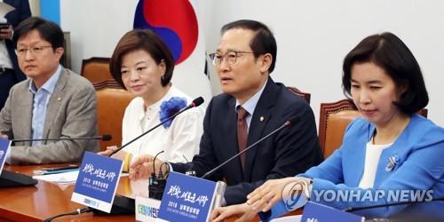 민주 '드루킹 의혹' 차단…'24일 개헌 본회의' 대야 압박