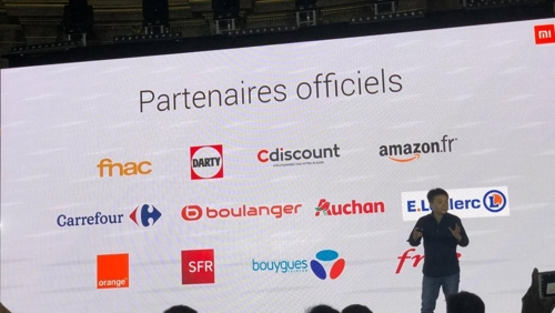 중국 스마트폰업체 샤오미, 프랑스 진출…유럽 공략 본격화